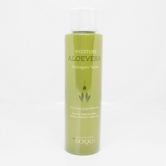 Toner Cấp Ẩm Từ Nước Biển Sâu Và Tinh Chất Lô Hội Soqu Deep Sea Water Moisture Aloe Vera Toner 150ml