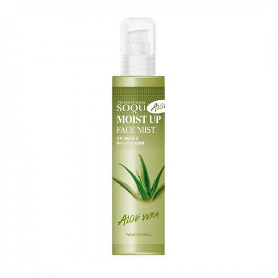 Xịt Khoáng Chiết Xuất Từ Nha Đam Giúp Dưỡng Ẩm Cho Da Soqu Aloe Moist Up Face Mist 150ml