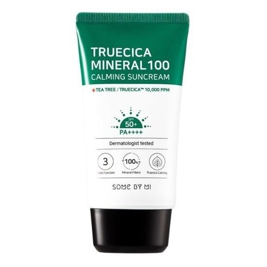 Kem Chống Nắng Dưỡng Ẩm Some By Mi Truecica Mineral 100 Calming Suncream SPF50+/PA+++ 50ml
