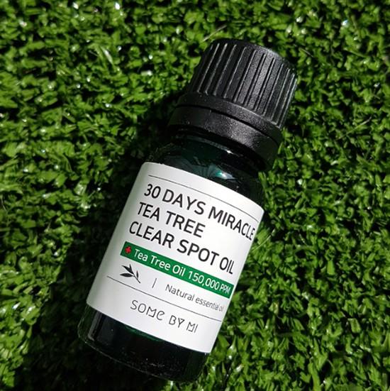 Tinh Dầu Tràm Trà Thần Kỳ Cải Thiện Làn Da Mụn Trong 30 Ngày Some By Mi 30 Days Miracle Tea Tree Clear Spot Oil 10ml