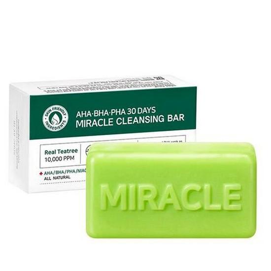 Xà Bông Trị Mụn Some By Mi AHA- BHA-PHA 30 Days Miracle Cleansing Bar