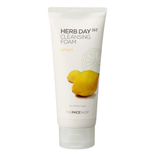 Sữa Rửa Mặt Chanh Herb Day 365 Cleansing Foam Lemon 170ml