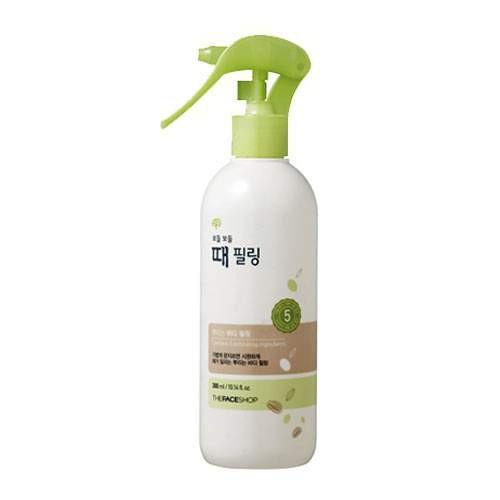Tẩy Da Chết Toàn Thân Dạng Xịt The Face Shop Body Clean Peeling Mist 300ml