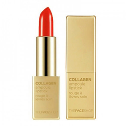 Son Thỏi Collagen The Face Shop Collagen Ampoule Lipstick