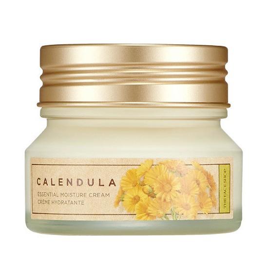Kem Dưỡng Làm Dịu Da Và Ngăn Ngừa Nếp Nhăn The Face Shop Calendula Essential Moisture Cream 50ml