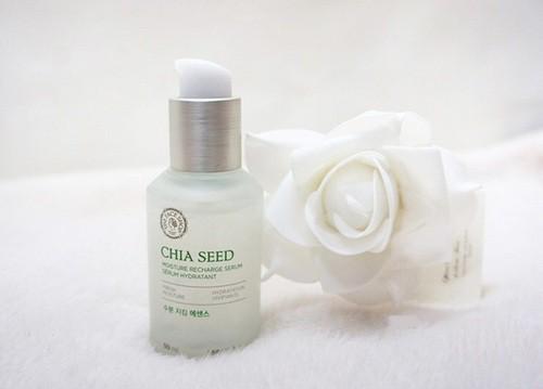 Tinh Chất Dưỡng Ẩm Và Chống Lão Hoá The Face Shop Chia Seed Moisture Recharge Serum 50ml (Phiên Bản Mới 2016)