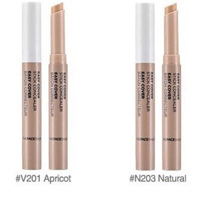 Thanh Che Khuyết Điểm The Face Shop Easy Cover Stick Concealer 22g