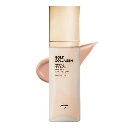 Kem Nền Cao Cấp Làm Sáng Hồng Da Và Chống Lão Hoá The Face Shop Gold Collagen Ampoule Foundation SPF30/PA++ 40ml