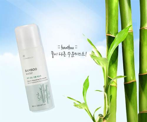 Xịt Khoáng Trà Xanh The Face Shop Green Tea Water Pure Moisture Mist 80ml