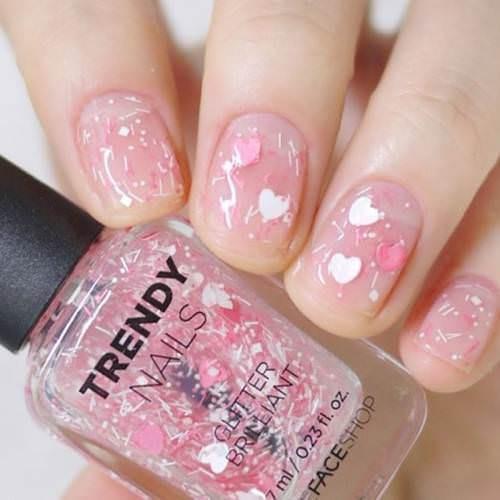 Mua Sơn Móng Tay The Face Shop Trendy Nails (Màu WH)