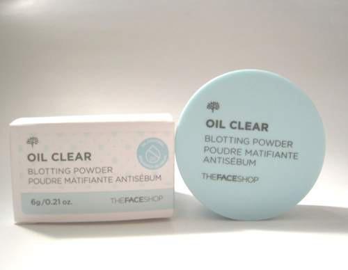 Phấn Phủ Dạng Bột Cho Da Dầu The Face Shop Oil Clear Blotting Powder 6g