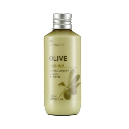 [BIG DEALS] Sữa Dưỡng Ẩm, Sáng Da Và Chống Lão Hoá The Face Shop Olive Essential Emulsion 150ml