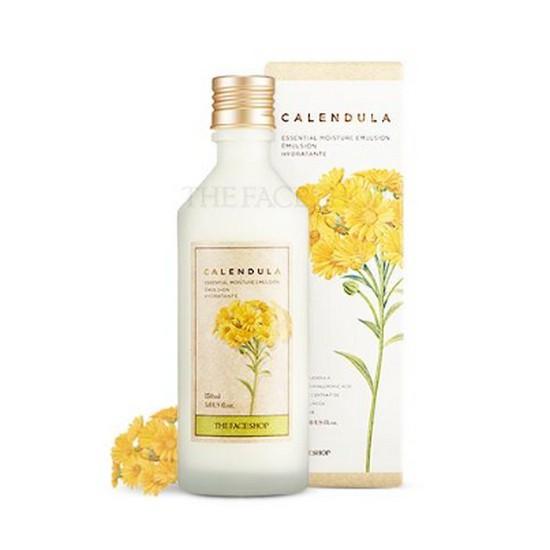 Sữa Dưỡng Làm Dịu Da Và Ngăn Ngừa Lão Hóa The Face Shop Calendula Essential Moisture Emulsion 150ml