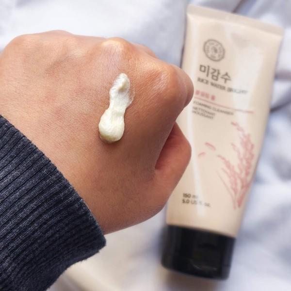 Sữa Rửa Mặt Sáng Da Gạo The Face Shop Rice Water Bright Facial Foaming Cleanser 150ml