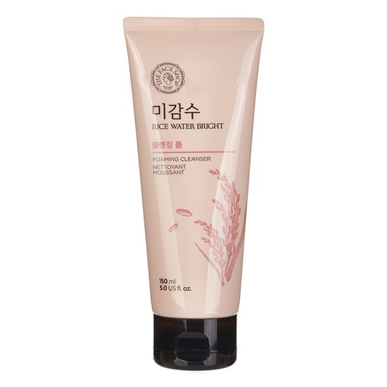 Sữa Rửa Mặt Sáng Da Gạo The Face Shop Rice Water Bright Facial Foaming Cleanser 150ml