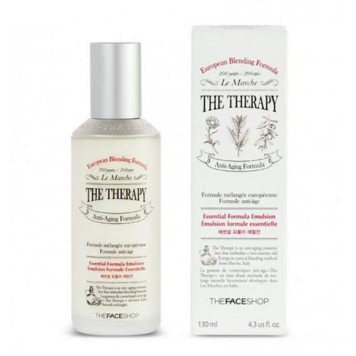[BIG SALES] Sữa Dưỡng Ẩm Chống Lão Hóa The Face Shop The Therapy Essential Formula Emulsion 130ml