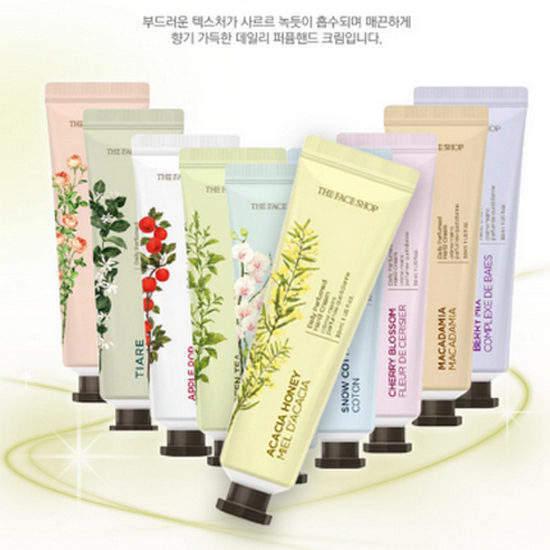 Kem Dưỡng Da Tay The Face Shop Daily Perfumed Hand Cream