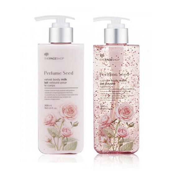 Bộ Sữa Tắm Và Sữa Dưỡng Thể Nước Hoa The Face Shop Perfume Seed Set (2 sản phẩm)
