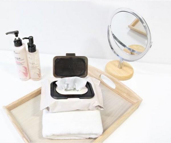 Khăn Giấy Tẩy Trang Làm Sáng Da The Face Shop Rice Water Bright Cleaning Wipes