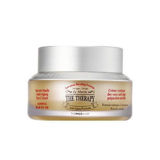 Kem Dưỡng Mắt Chống Lão Hóa The Face Shop The Therapy Secret-made Anti-aging Eye Cream