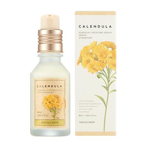 Tinh Chất Dưỡng Ẩm Và Làm Dịu Da The Face Shop Calendula Essential Moisture Serum 40ml