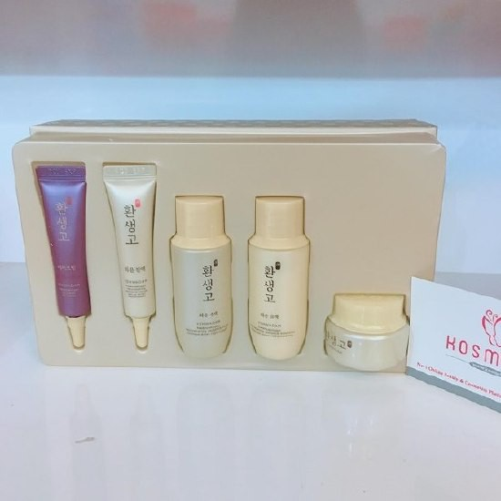 Bộ Dưỡng Da Cao Cấp The Face Shop Yehwadam Hwansaenggo Rejuvenating Radiance Set (Dùng Thử)