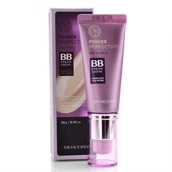 Kem BB Che Phủ Hoàn Hảo The Face Shop BB Cream Power Perfection SPF37+ /PA++ 20ml