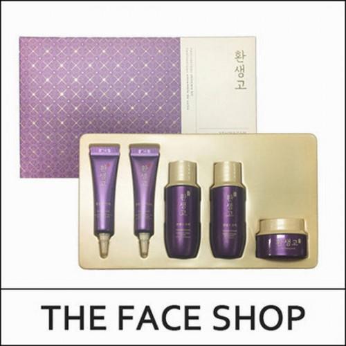 Bộ Dùng Thử Dưỡng Da Cao Cấp The Face Shop Yehwadam Hwansaenggo Skincare Kit