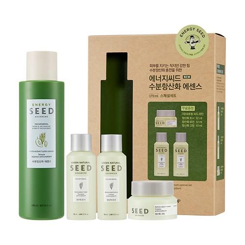 Bộ Dưỡng Chống Lão Hóa Da Chiết Xuất Yến Mạch Energy Seed Serum Special Set (4 Sản Phẩm)