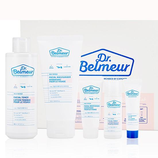 Bộ Dưỡng Phục Hồi Da The Face Shop Dr Belmeur Daily Repair Special Set (5 sản phẩm)