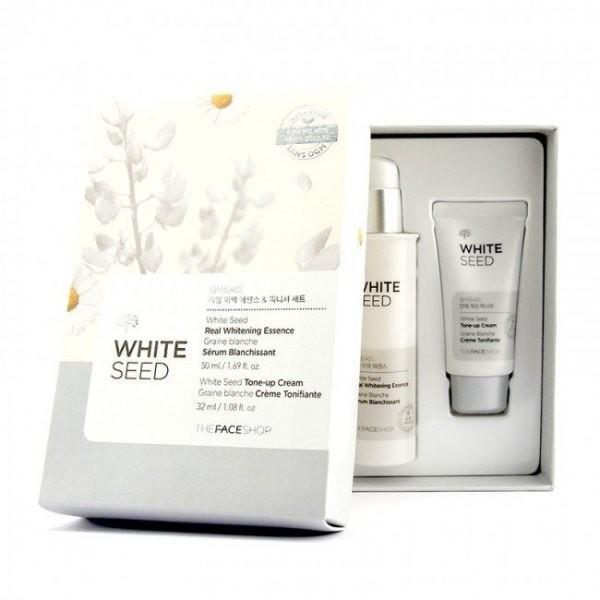 Bộ Dưỡng Trắng Da Trị Nám The Face Shop White Seed Real Whitening