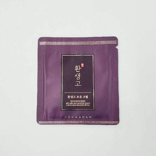 Combo 10 Kem Dưỡng Chống Lão Hóa The Face Shop Yehwadam Hwansaenggo Ultimate Rejuvenating Cream 1.5ml - Dùng thử