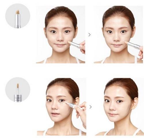 Che Khuyết Điểm Môi, Mắt và Mặt The Face Shop Concealer Dual Veil Trolls 8.1g