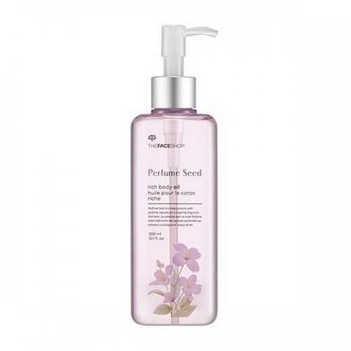 Dầu Dưỡng Thể Dưỡng Ẩm The Face Shop Perfume Seed Rich Body Oil 225ml