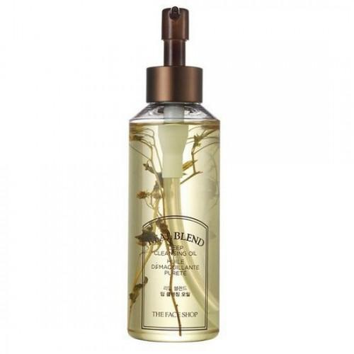 Dầu Tẩy Trang Làm Sạch Sâu The Face Shop Real Blend Deep Cleansing Oil