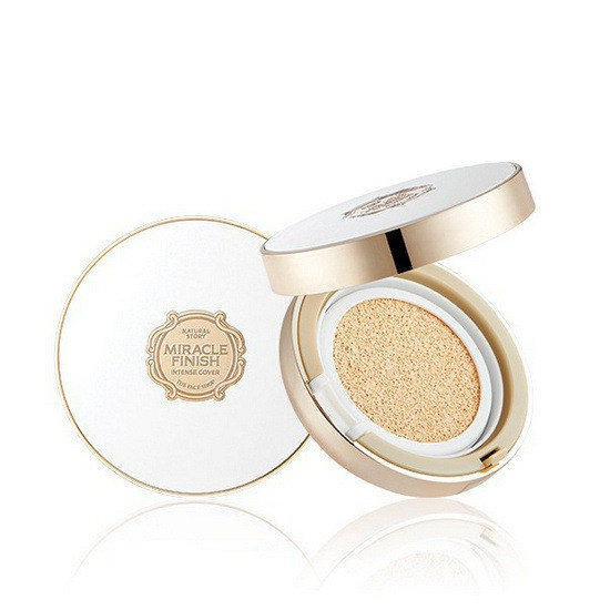 Kem Nền The Face Shop CC Cushion Intense Cover SPF50+/PA+++ 15g