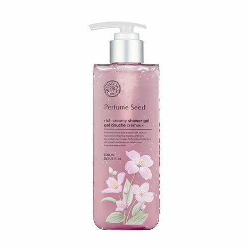 Gel Tắm Hương Nước Hoa Cấp Ẩm, Sáng Da The Face Shop Perfume Seed Rich Creamy Shower Gel 300ml
