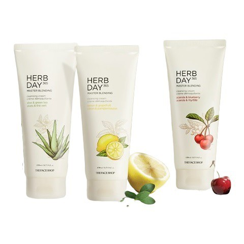 Kem Mátxa Tẩy Trang The Face Shop Herb Day Cleansing Cream 170ml
