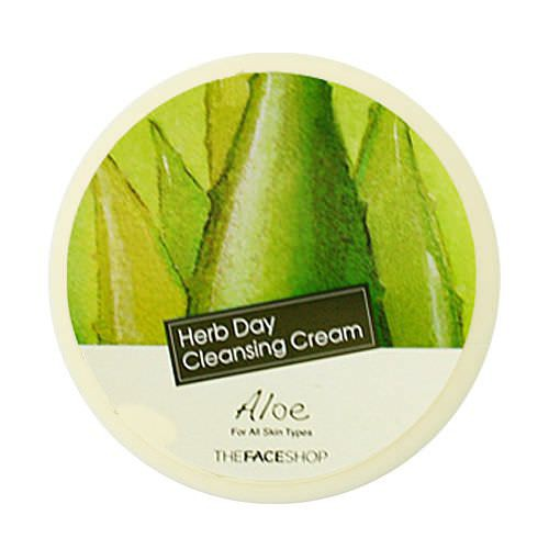 Kem Mátxa Tẩy Trang The Face Shop Herb Day Cleansing Cream 150ml