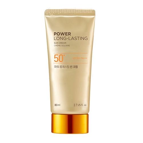 Kem Chống Nắng Lâu Trôi The Face Shop Natural Sun Eco Power Long Lasting Sun Cream 80ml