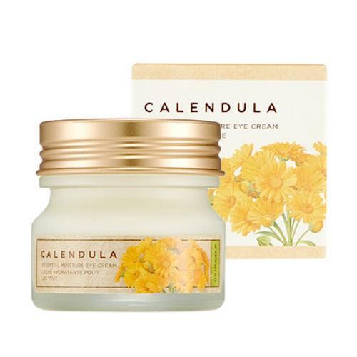 Kem Dưỡng Mắt The Face Shop Calendula Essential Moisture Eye Cream