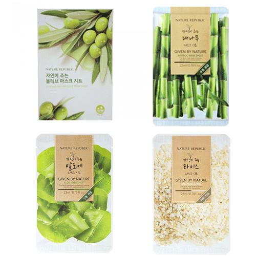 Mặt Nạ Đắp Nature Republic Given By Nature Mask Sheet