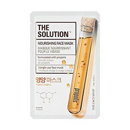 Mặt Nạ Chống Lão Hóa Da The Face Shop The Solution Nourishing Face Mask