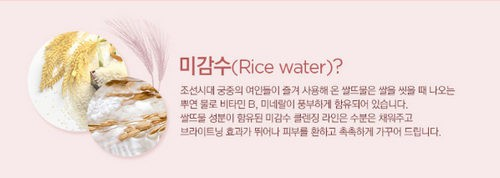 Nước Tẩy Trang The Face Shop Rice Water Bright Mild Cleansing Water 110ml