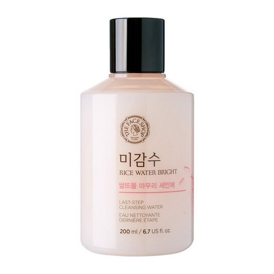 Nước Tẩy Trang Chiết Xuất Gạo The Face Shop Rice Water Bright Last-Step Cleansing Water 200ml