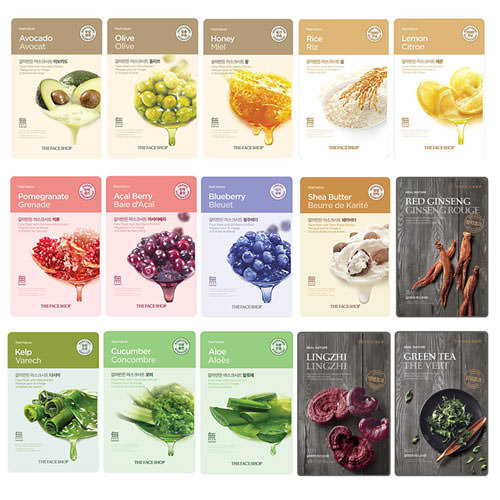 Mặt Nạ Giấy The Face Shop Real Nature Mask Sheet - 20g