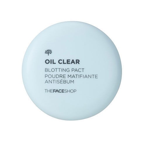 Phấn Phủ Nén Kiềm Dầu The Face Shop Oil Clear Blotting Pact 9g
