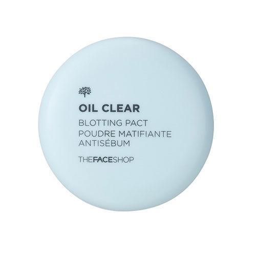 Phấn Phủ Nén Kiềm Dầu The Face Shop Oil Clear Blotting Pact 9g