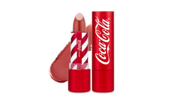 Son Thỏi The Face Shop x Coca Cola Velvet Lipstick