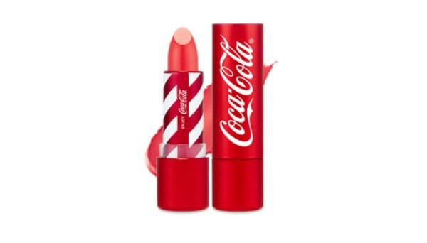 Son Thỏi The Face Shop x Coca Cola Velvet Lipstick